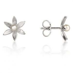 silver flower stud copy