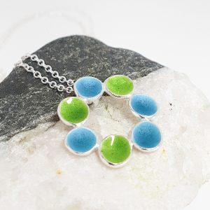 Enamelled! Colourful jewellery using vitreous enamel.